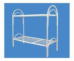 Металлические кровати для бытовок, одноярусные кровати